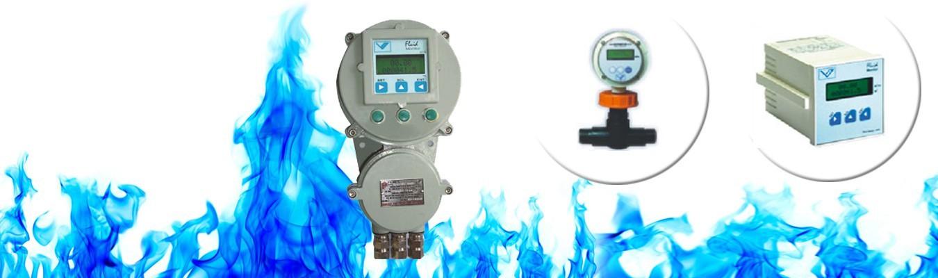 Flow Meters, Flow Sensors, Paddle Wheel Flow Meter